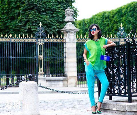绿色鞋子+裤子