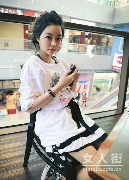 韩国超人气娃娃 赵敏英可爱照
